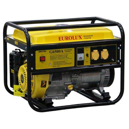 Бензиновый генератор Eurolux G6500A (5500 Вт) eurolux аполлония 180х90 с ножками
