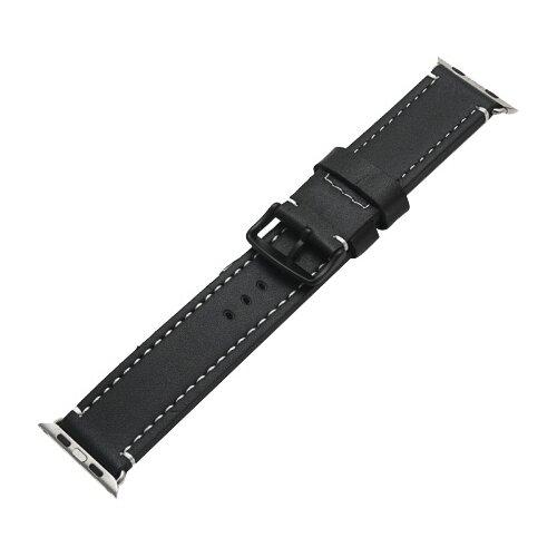 Купить CARCAM Ремешок для Apple Watch 42mm New Кожзам черный