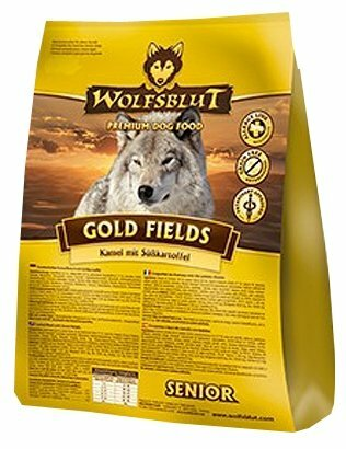 Корм для собак Wolfsblut Gold Fields Senior (15 кг)