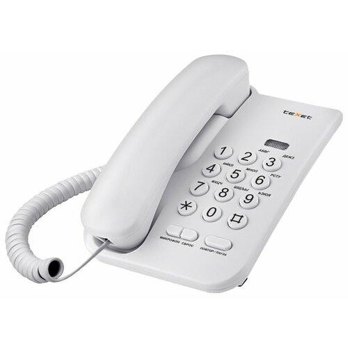 Телефон teXet TX-212 светло-серый