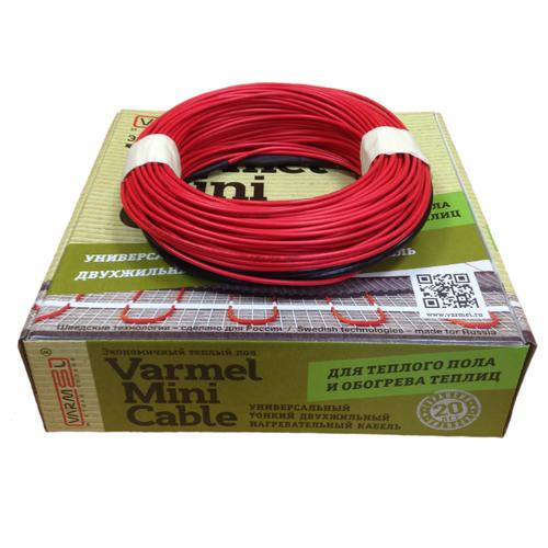 Фото - Греющий кабель Varmel Mini Cable 56-840Вт греющий кабель саморегулирующийся varmel freeze guard 30vfgr2 cp 10m