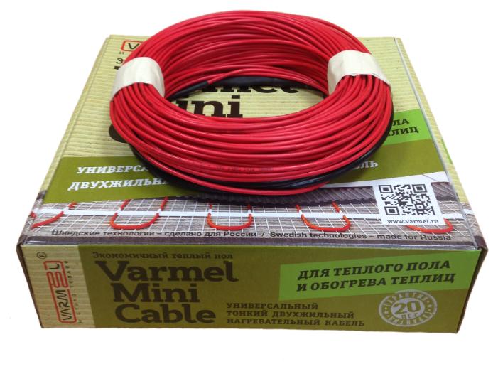 Греющий кабель Varmel Mini Cable 34-510Вт — купить по выгодной цене на Яндекс.Маркете