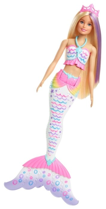Кукла Barbie Цветная русалочка GCG67