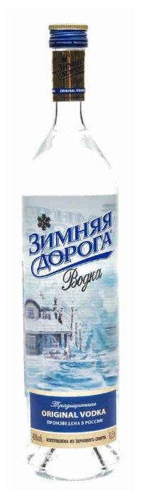 Водка Зимняя дорога Традиционная, 0.5 л