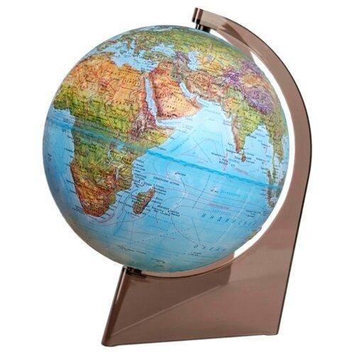 Глобус физико-политический Глобусный мир Двойная карта 210 мм (10290)