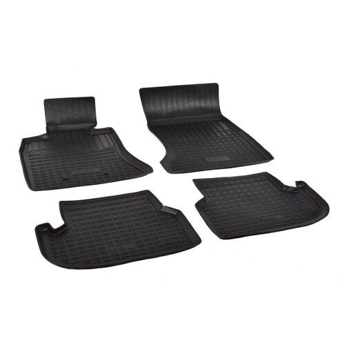 Комплект ковриков NorPlast NPA00-C07-150 4 шт. черный