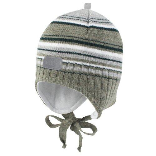 Купить Шапка Prikinder размер 44-46, светло-зеленый/темно-зеленый, Головные уборы