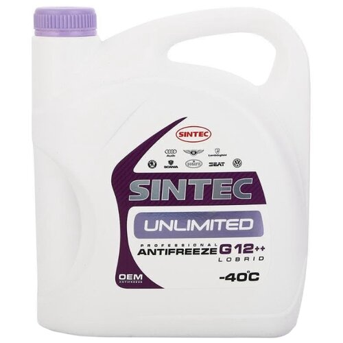 Антифриз SINTEC UNLIMITED G12++ 5 кг