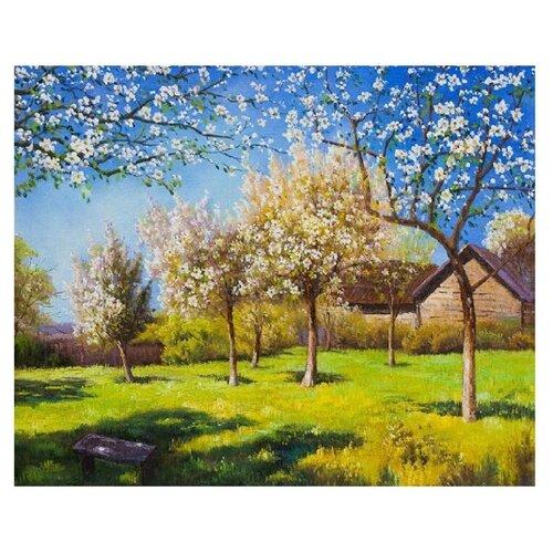 Molly Картина по номерам Цветущие яблони 40х50 см (KH0163)Картины по номерам и контурам<br>