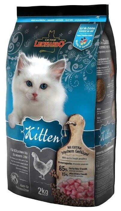 Корм для кошек Leonardo Kitten на основе Курицы