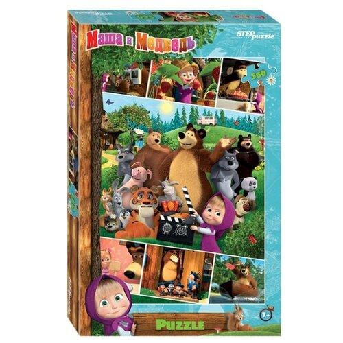 Купить Пазл Step puzzle Маша и Медведь - 2 (97068), 560 дет., Пазлы