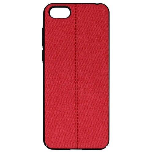 Чехол Volare Rosso Jeans для Huawei Y5 Prime/Honor 7A красный