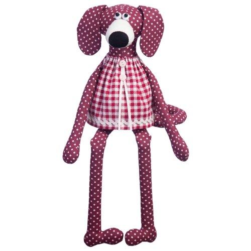 Малиновый слон Набор для изготовления мягкой игрушки Собачка Вишенка (ТК-011)Изготовление кукол и игрушек<br>