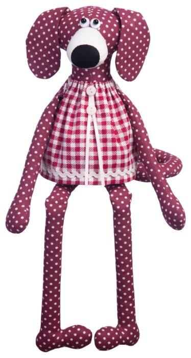 Малиновый слон Набор для изготовления мягкой игрушки Собачка Вишенка (ТК-011)