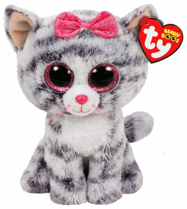 Мягкая игрушка TY Beanie boos Котёнок Kiki 15 см