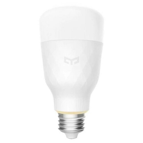 Фото - Лампа светодиодная Yeelight Smart LED Bulb Tunable White (YLDP05YL), E27, 10Вт лампочка xiaomi mi led smart bulb 2 pack mjdp02yl e27 10вт