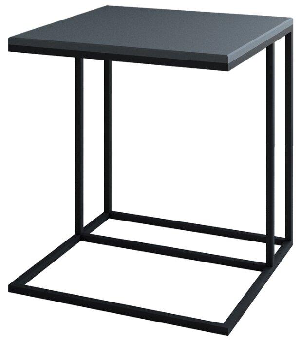 Столик Калифорния мебель Эгрет, 50х50 см, графит