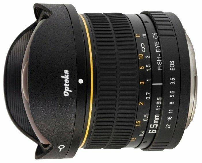 Объектив Opteka 6.5mm f/3.5 HD Aspherical Canon EF-S