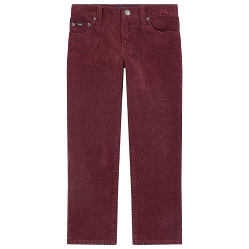 Купить Брюки Ralph Lauren размер 164, бордовый