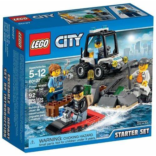 Купить Конструктор LEGO City 60127 Тюремный остров для начинающих, Конструкторы