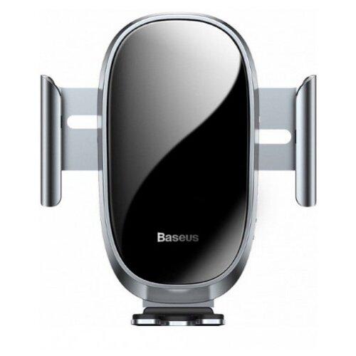 Купить Держатель Baseus Smart Car Mount Cell Phone Holder серебристый