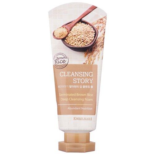 Kwailnara пенка для умывания Cleansing Story Germinated Brown Rice, 120 г takasago brown rice шампунь