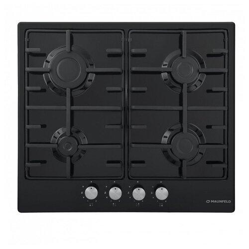 Газовая варочная панель MAUNFELD EGHE.64.3EB\G cooking panel maunfeld eghe 64 43cw g white