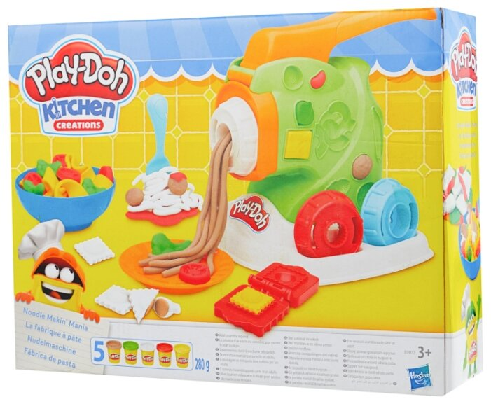 Масса для лепки Play-Doh Машинка для лапши (B9013)