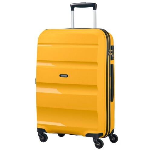 Чемодан American Tourister Bon Air 57.5 л, светло-желтый