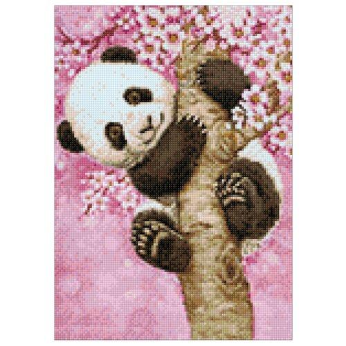 Фото - Гранни Набор алмазной вышивки Ласковая панда (Ag 3434) 27х38 см гранни набор алмазной вышивки радужный слон ag 482 27х38 см