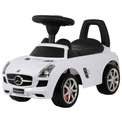 Купить Каталка-толокар Chi lok BO Mercedes-Benz SLS AMG (Z332) со звуковыми эффектами белый, Каталки и качалки
