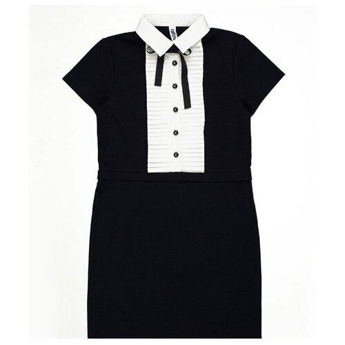 Платье INFUNT размер 146, темно-синий, Платья и сарафаны  - купить со скидкой