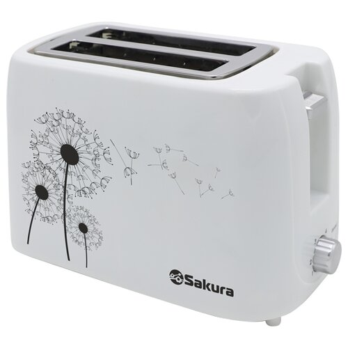 Тостер Sakura SA-7608W, белый
