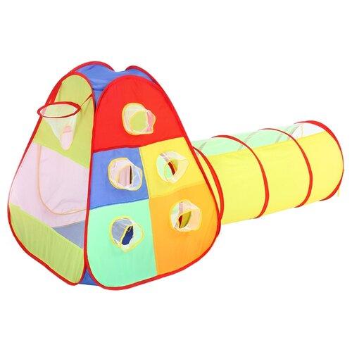 Купить Палатка Bony Кубики с туннелем LI9175 разноцветный, Игровые домики и палатки