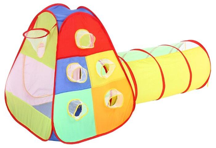 Палатка Bony Кубики с туннелем LI9175