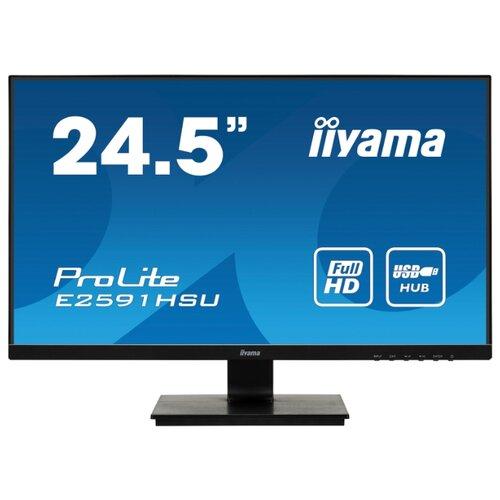Купить Монитор Iiyama ProLite E2591HSU-B1 24.5 черный