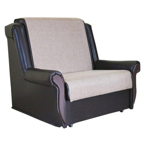 Кресло-кровать Шарм-Дизайн Аккорд М размер: 100х101 см, , размер спального места: 194х70 см, обивка: комбинированная, цвет: рогожка бежевый