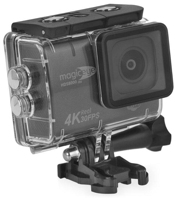 Экшн-камера Gmini MagicEye HDS8000Pro Мото/Вело/Авто/Спорт, водонепроницаемый, Real 4K, 13 MPx, стабилизация, LCD экран 2