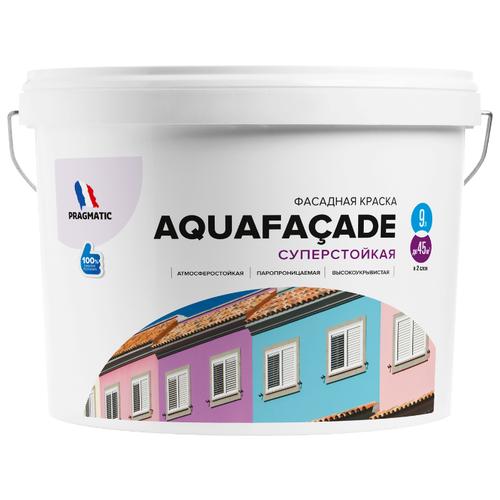 Краска акриловая Pragmatic Aquafaçade 5100BR91 влагостойкая моющаяся матовая 044 9 л подшипник cmt 791 044 00