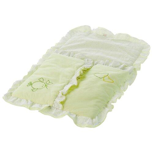 Конверт-мешок Fairy на выписку Жирафик 69 см зеленый конверты на выписку осьминожка конверт нарядный атласный этюд