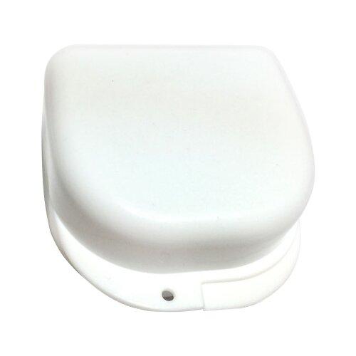 StaiNo Denture Box – Бокс пластиковый, 78*83*45 мм (белый)Полоскание и уход за полостью рта<br>