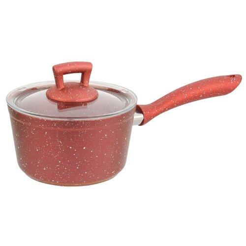 Ковш КАТЮША Классика 8040-160 16 см, красный гранитКастрюли и ковши<br>