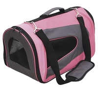 Переноска-сумка для собак GiGwi Pet Travel 75215 46х26х27 см розовый