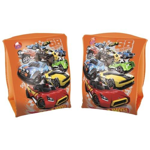 Нарукавники для плавания Bestway Hot Wheels 93402 BW оранжевыйАксессуары для плавания<br>