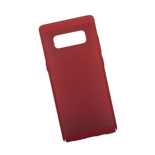Чехол Liberty Project Сетка Soft Touch для Samsung Note 8 красный