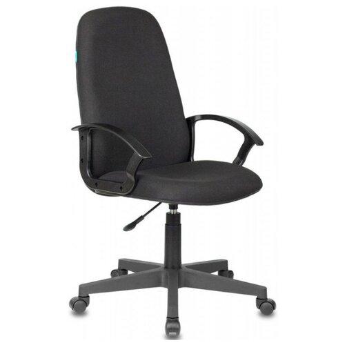 Кресло для руководителя Бюрократ Бюрократ CH-808LT, обивка: текстиль, цвет: ткань черная 3c11