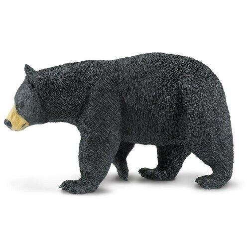 Фигурка Safari Ltd Черный медведь Барибал 112589 фигурка safari ltd черный носорог 228929