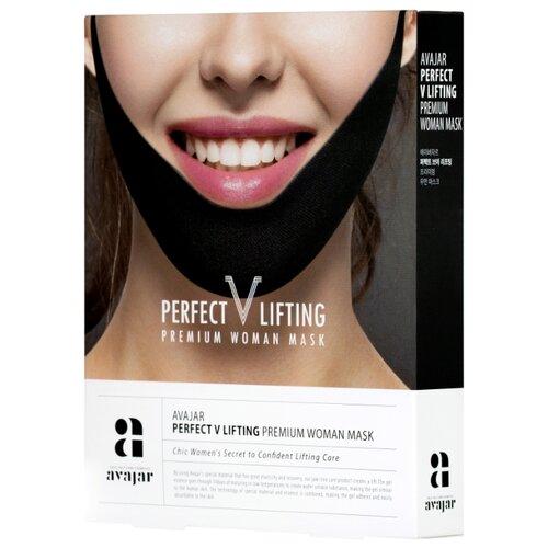 Avajar Умная лифтинговая маска Perfect V Lifting Premium Woman Black, 5 шт. perfect lifting premium mask