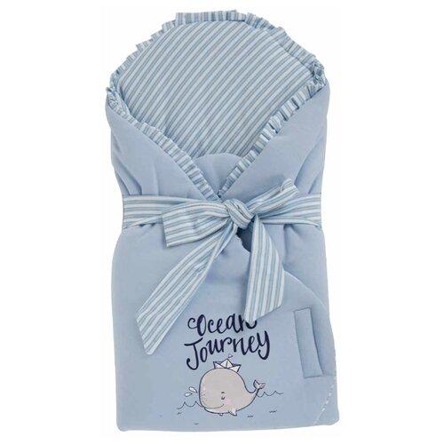 Конверт-одеяло Leader Kids Китенок голубой