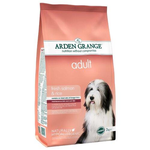 Корм для собак Arden Grange (2 кг) Adult лосось и рис сухой корм для взрослых собакКорма для собак<br>